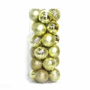 Promotional Plastic Christmas Tree Decorative Ball