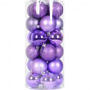 Promotional Plastic Shatterproof Xmas Ball