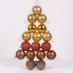 Promotional salable shatterproof Christmas ball set