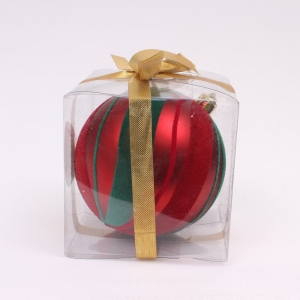 Salabe Painted Christmas Hanging Ornament Ball