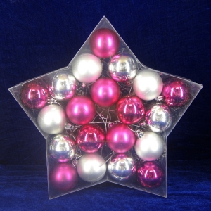Salable Fine Quality Shatterproof Xmas Plastic Ball