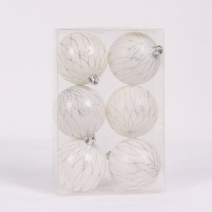 Salable new type plastic decorative Xmas hanging ball
