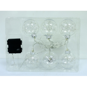 Top Quality Clear Glass Ball With UL and CE Approved Led Lights