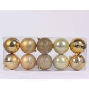 Trendy Plastic Christmas Ball Ornament