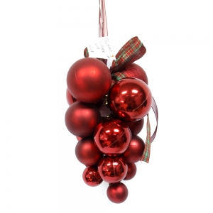 Unique Hot Selling Plastic Christmas Grape Ball
