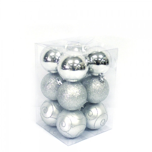 Wholesale Fashionable Decorative Plastic Christmas Ball