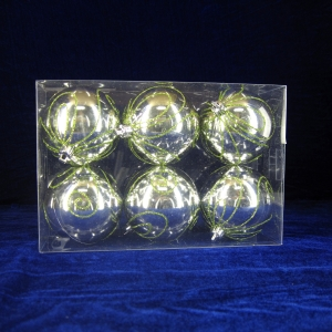 Wholesale High Quality Shiny Xmas Decor Ball
