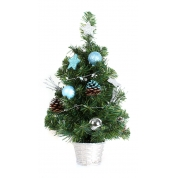 China 2' tabletop led light artifical pvc christmas tree factory