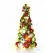 China 45cm Colorful Tabletop Decoration Christmas Ornament Tree factory
