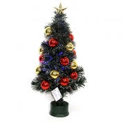 Кита Christmas decoration supplier Outdoor lighted twig holiday time musical fiber optic christmas tree завод