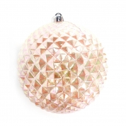 中国Good selling decorative plastic Xmas ball decoration工厂