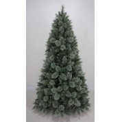 China High quality 6.5 FT pine needle Christmas tree factory