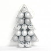 China Hot selling goo quality shatterproof christmas tree ball factory