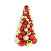 La fábrica de China Hot selling inexpensive plastic Christmas ball tree