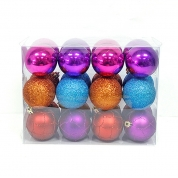 中国Hot selling wholesale plsatic christmas seamless ball ornament工厂