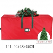 Chiny Large capacity ornaments xmas tree storage box wreath Christmas Storage bag fabrycznie