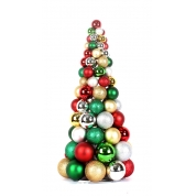 "China Make 24"" Decorative Christmas Ball Tree factory"
