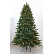 China Most realistic 7.5 FT LED clear-lit  full christmas trees factory