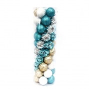 China New type salable plastic Christmas decoration ball fabriek