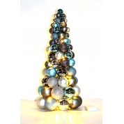 China Plastic Christmas Balls Trees for decoration factory