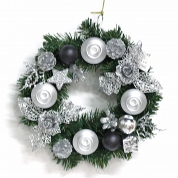 China Wholesale Hot Selling Christmas Hanging Wreath fabriek