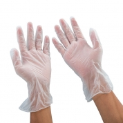 China Powder free vinyl transparent protective pvc disposable hand glove-Fabrik