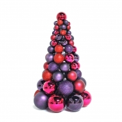 La fábrica de China Promotional salable Xmas ball ornament tree