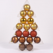 Chiny Promotional salable shatterproof Christmas ball set fabrycznie