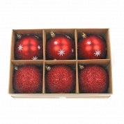 Chiny Promotional wholesale hanging christmas ball ornament fabrycznie