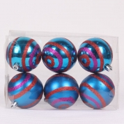 China Salable New Type Plastic Christmas Ball factory