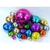 China Shatterproof Traditional Multi-Color Shiny & Matte Christmas Ball factory
