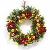 Кита Hot Selling Decorative Christmas Wreath With Ornaments завод
