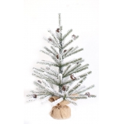 China Unique slim mini tabletop artificial christmas trees factory