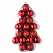 Кита Wholesale shatterproof plastic christmas ball decoration set завод