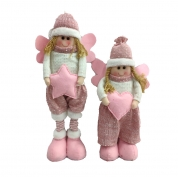 China Xmas tree hanging toys plush Elf Decoration Ornaments christmas angel doll factory