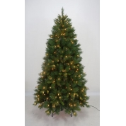 China china manufacturer wholesale led artificial pre lit christmas tree factory