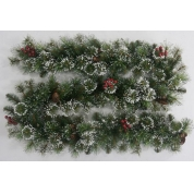 China imported christmas tree garland,christmas tree garland,led lighted christmas tree garland factory