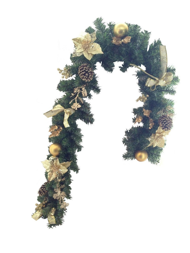 180cm christmas wall hanging decorations