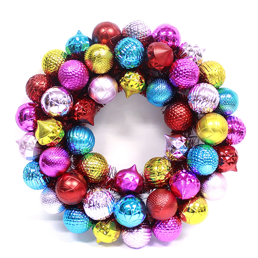 24inch Christmas Occasion and Decorative Ball Wreath