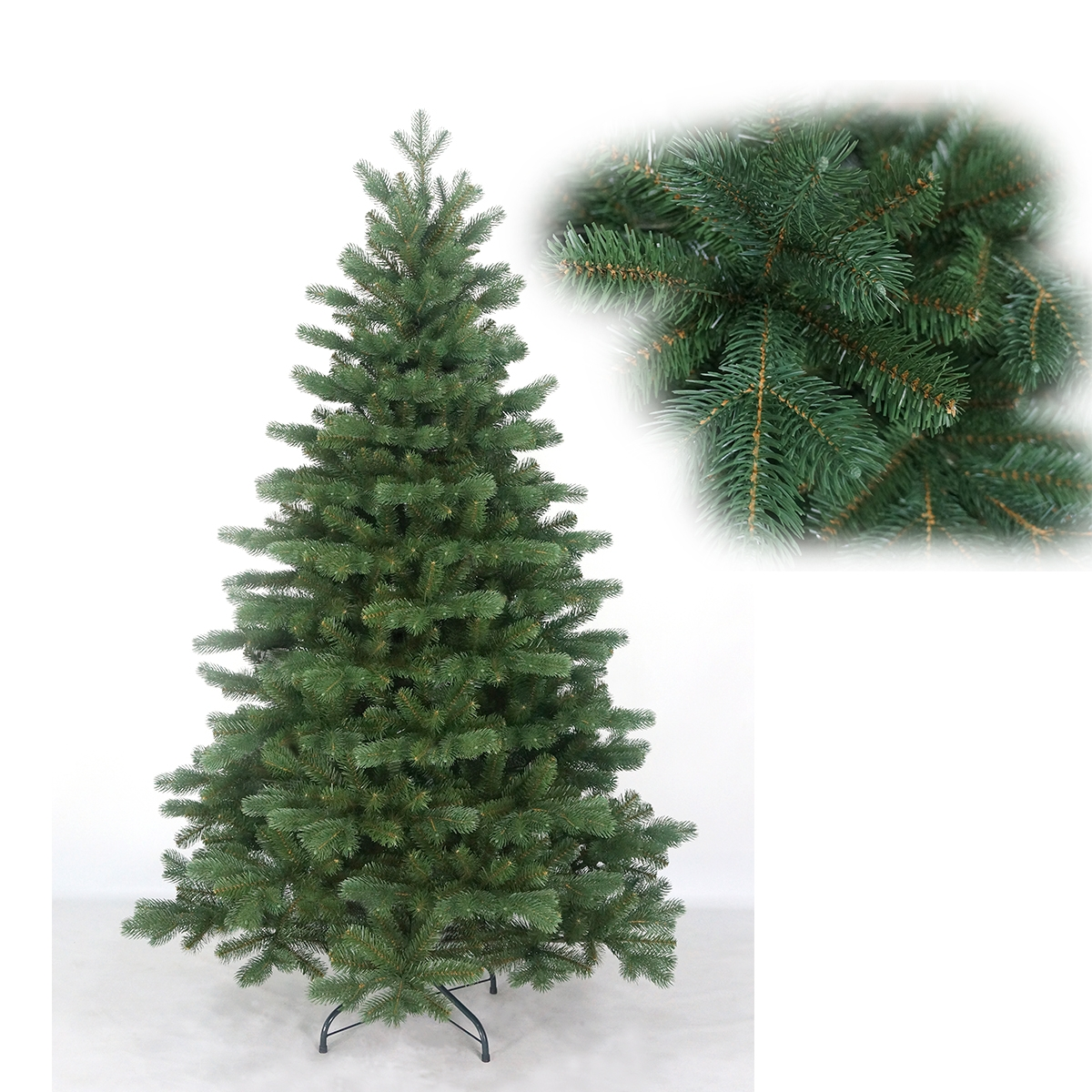 6-Ft christmas tree, wholesale artificial christmas tree, snowing christmas tree
