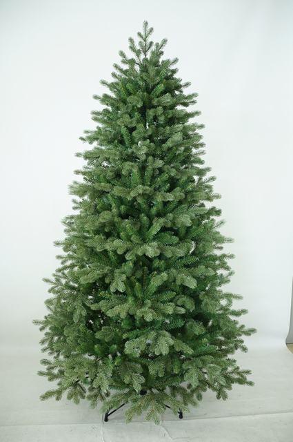 8ft Unique Pre Lit Plastic Christmas Tree Artificial Christmas