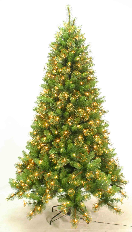 9-Ft Pre-lit william slim pine quick set tree
