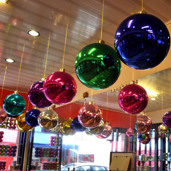 Plastic Christmas Ball Christmas Decor Ball Christmas