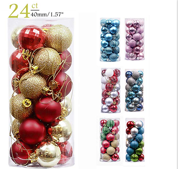 hot selling high quality plastic ball tube - How To Decorate Christmas Balls