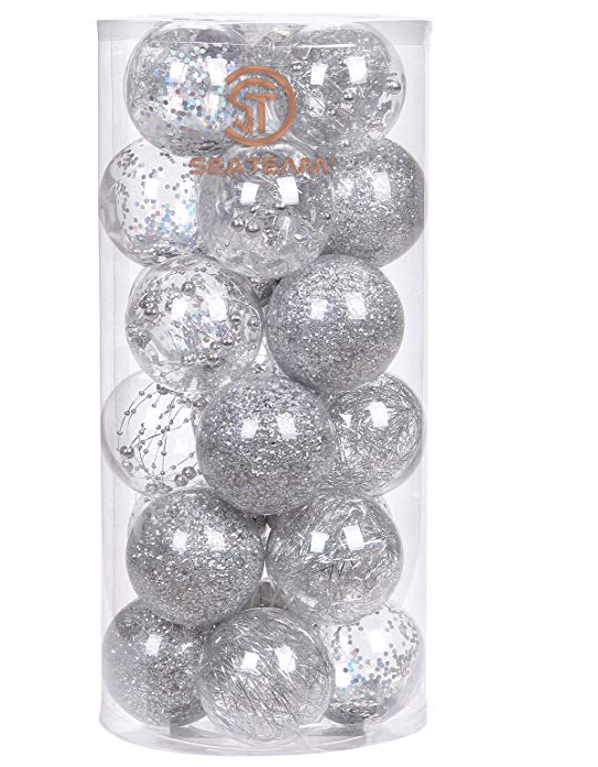 hot selling popular clear plastic christmas balls - Plastic Christmas Balls
