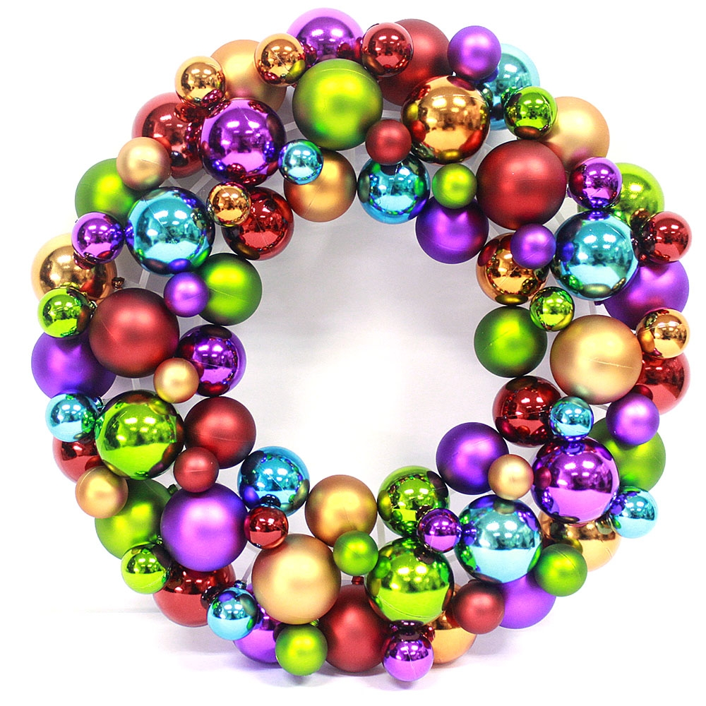 Wholesales Factory Price Christmas Ball Wreath
