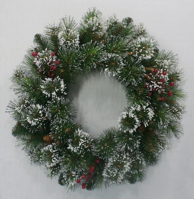 wholesale christmas door wreath decorations