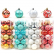 Cina Promotional Hot Selling Platic Xmas Ball Set esportatore